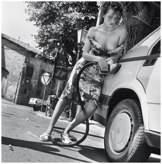 Для Pirelli, 1986. Фотограф Хельмут Ньютон