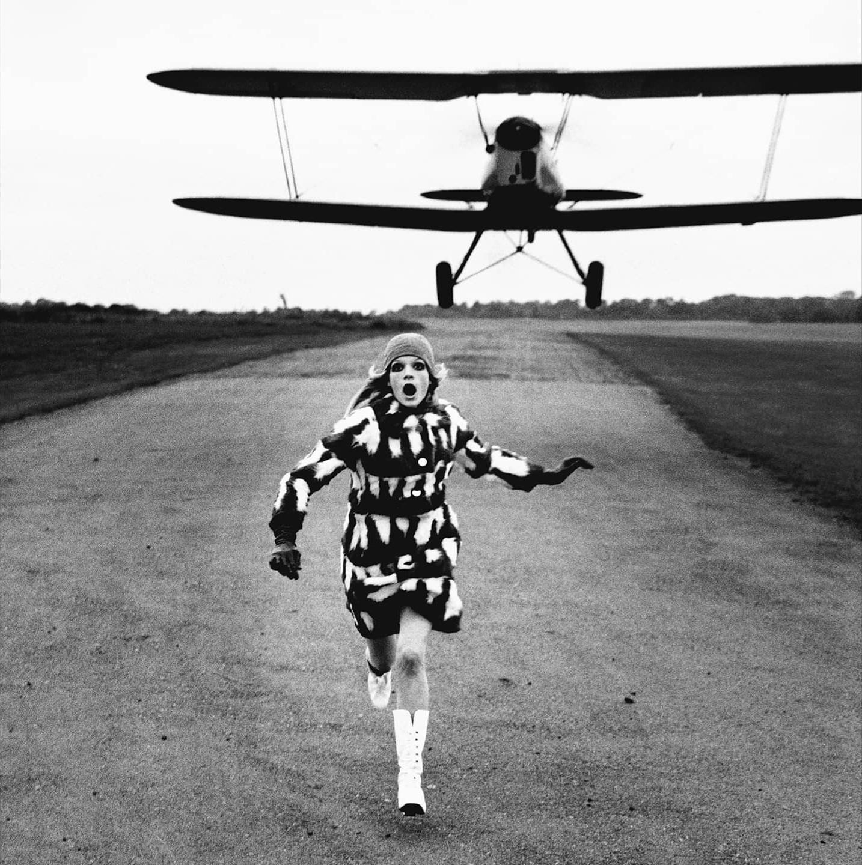 Лондон, British Vogue, 1967. Фотограф Хельмут Ньютон