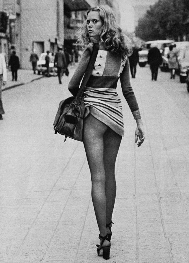 Париж, 1971. Фотограф Хельмут Ньютон