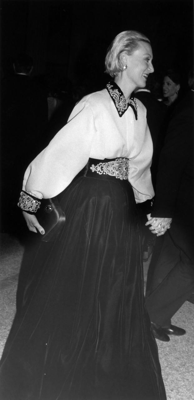 Мерил Стрип, Met Gala, 1988. Фотограф Билл Каннингем