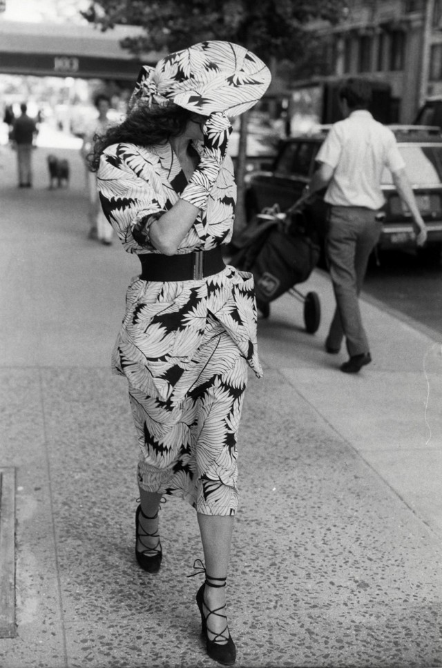 Нью-Йорк, 1984. Фотограф Билл Каннингем