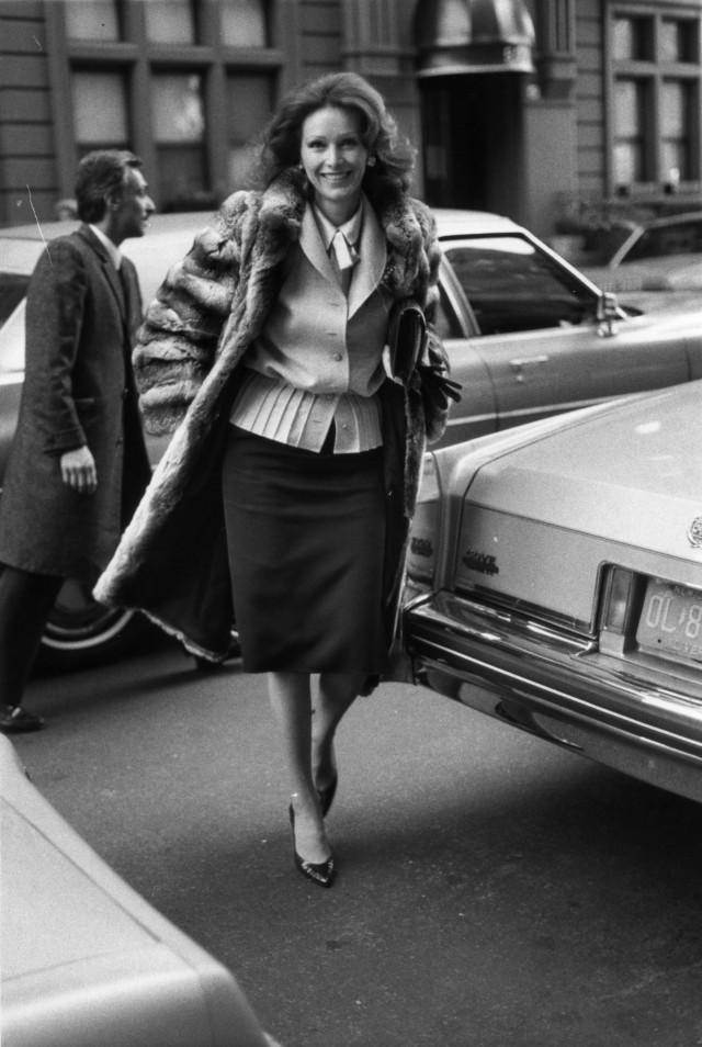 Энн Гетти, 1984. Фотограф Билл Каннингем