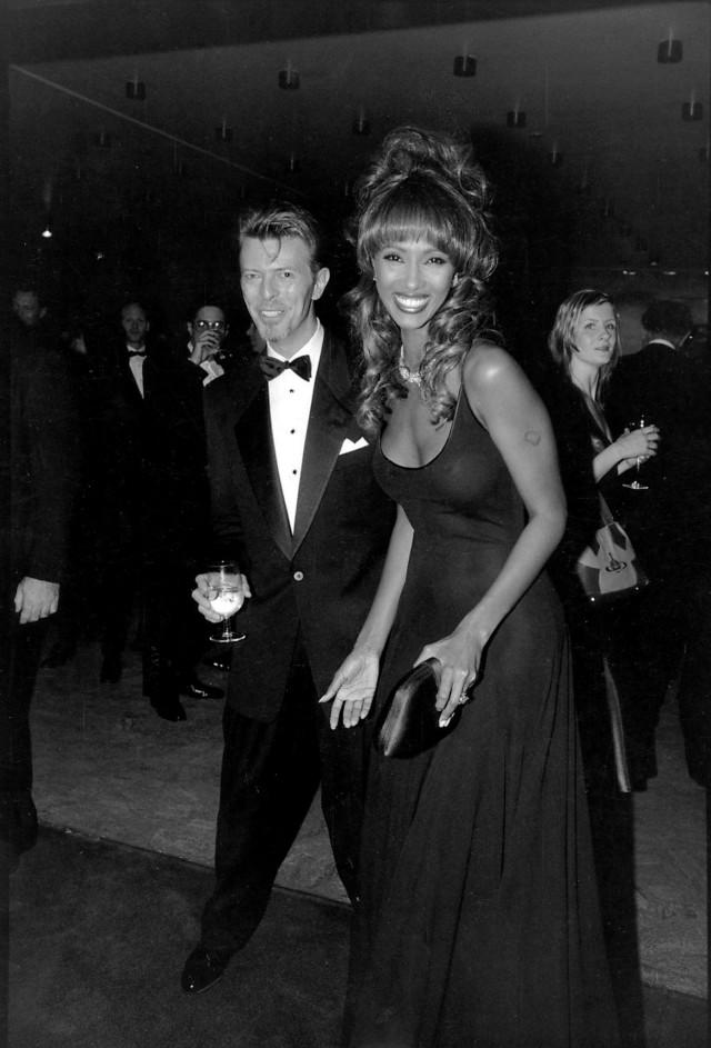 Дэвид Боуи и его жена Иман. Фотограф Билл Каннингем