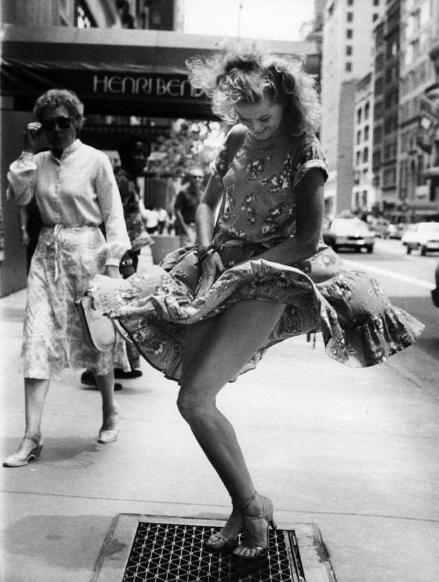 Нью-Йорк, 1980-е. Фотограф Билл Каннингем