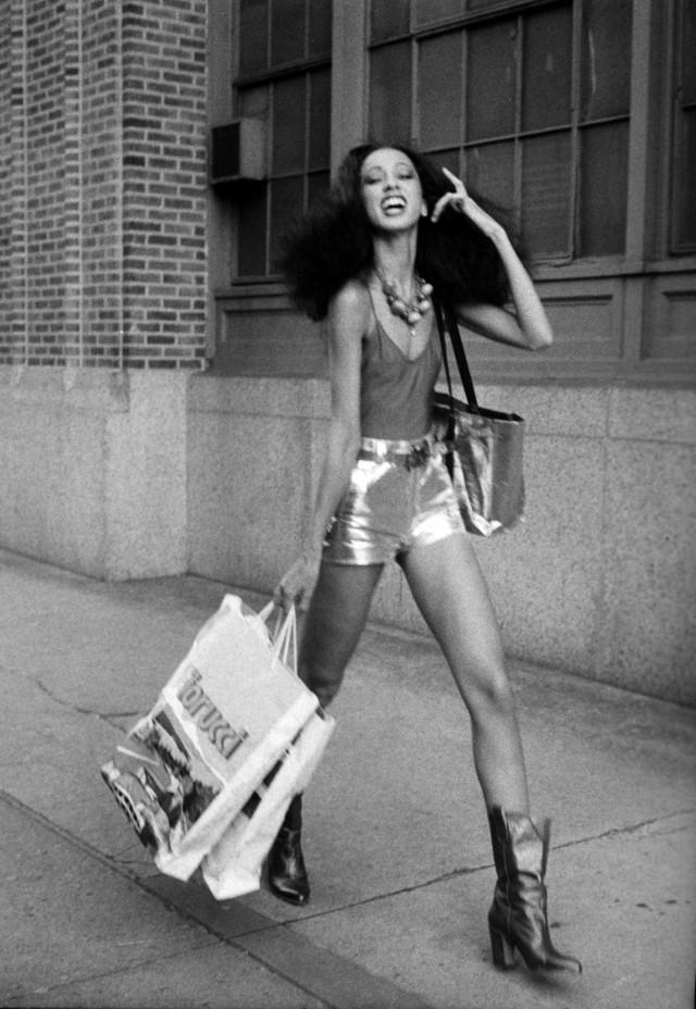 Пэт Кливленд, 1970-е. Фотограф Билл Каннингем