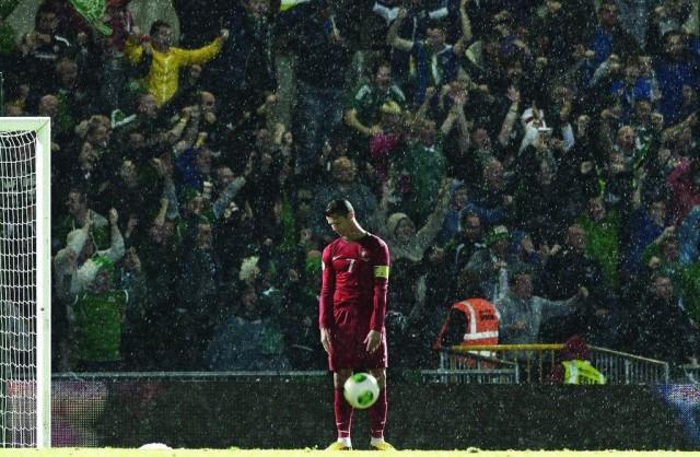 «Криштиану Роналду, когда Северная Ирландия забила гол Португалии». Автор Чарльз МакКиллан