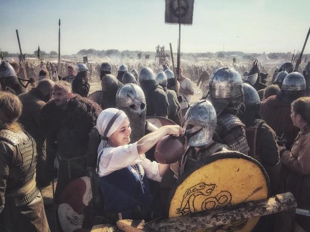 «На фестивале викингов». Автор TheThread