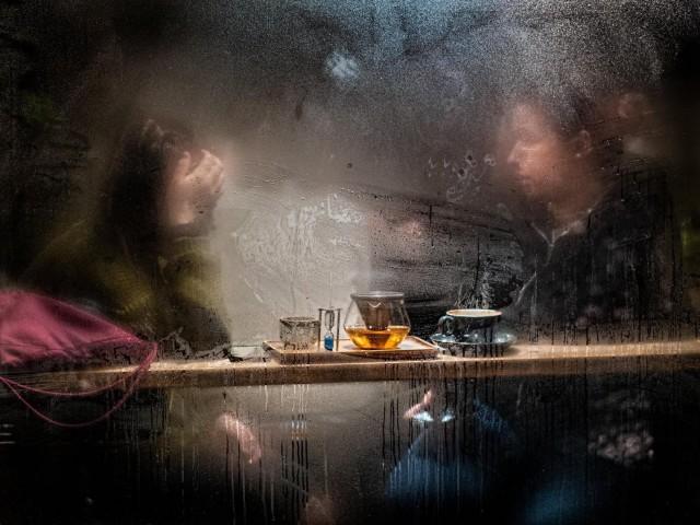 «Случайный импрессионизм в кофейне». Автор KingofHarts32
