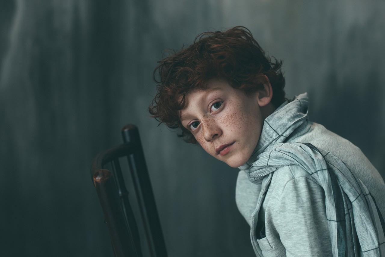 Веснушчатый мальчик. Автор Miquel Llonch