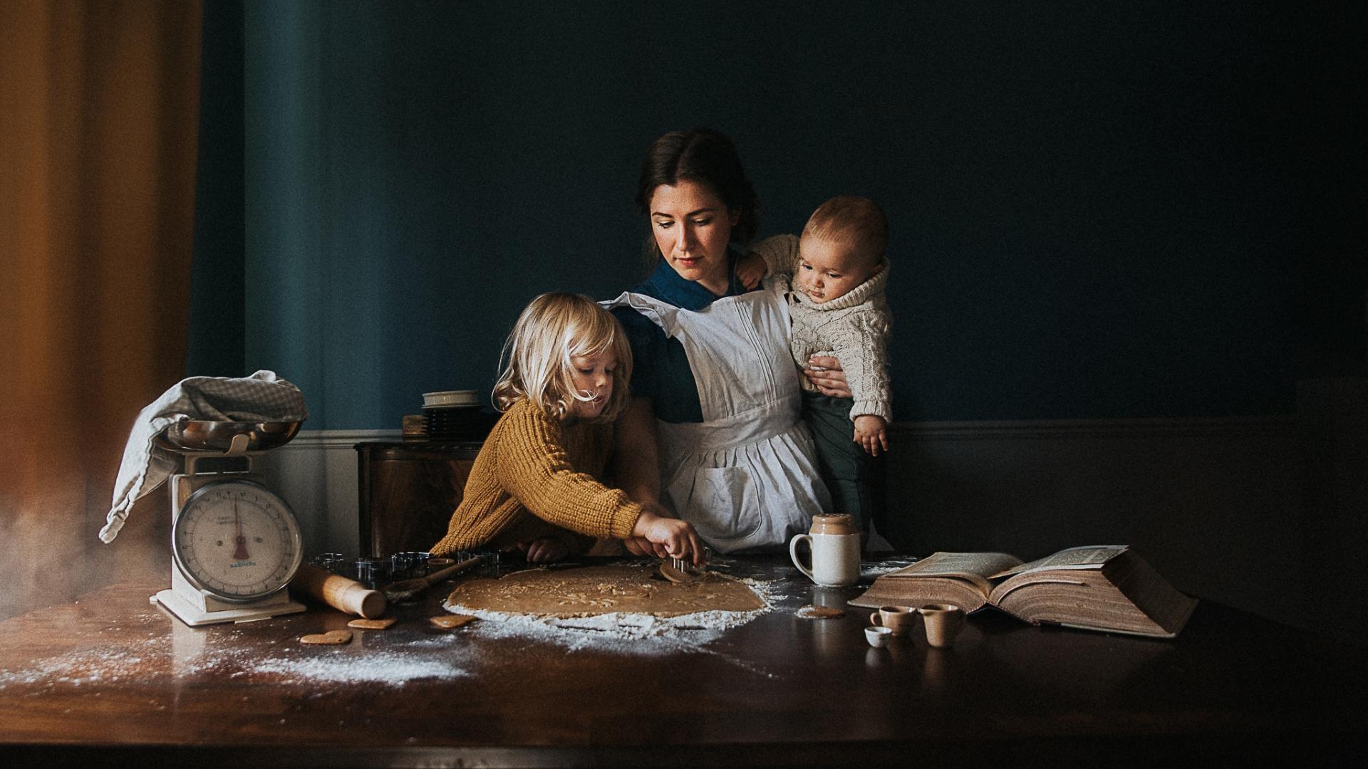 «Печенье для семьи». Фотограф Лора Вуд