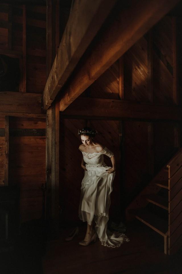 Портрет невесты. Фотограф Майк Валлели