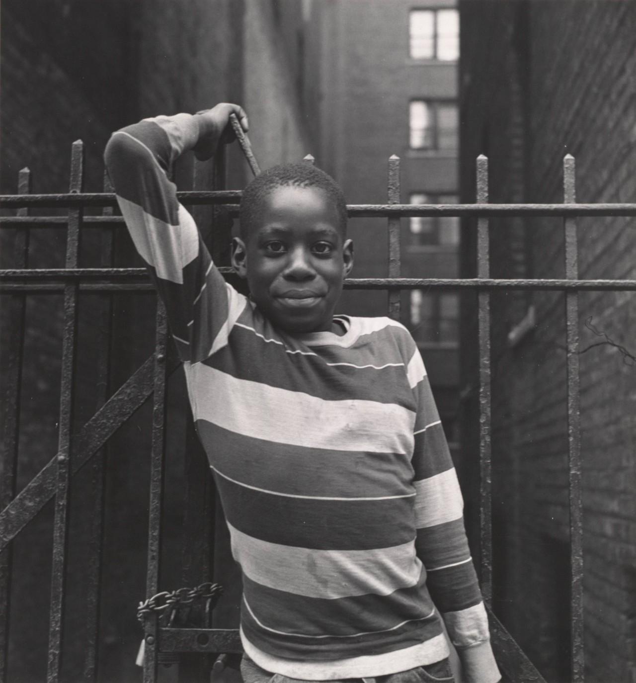 Мальчик в Нью-Йорке, 1956. Фотограф Имоджен Каннингем