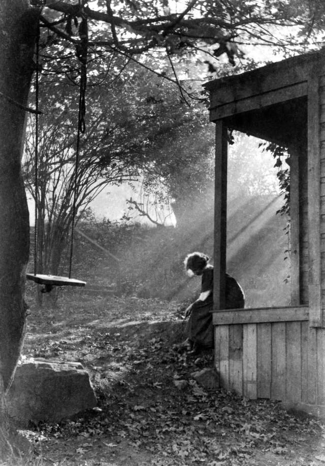 Утренний туман и солнце, 1911. Фотограф Имоджен Каннингем