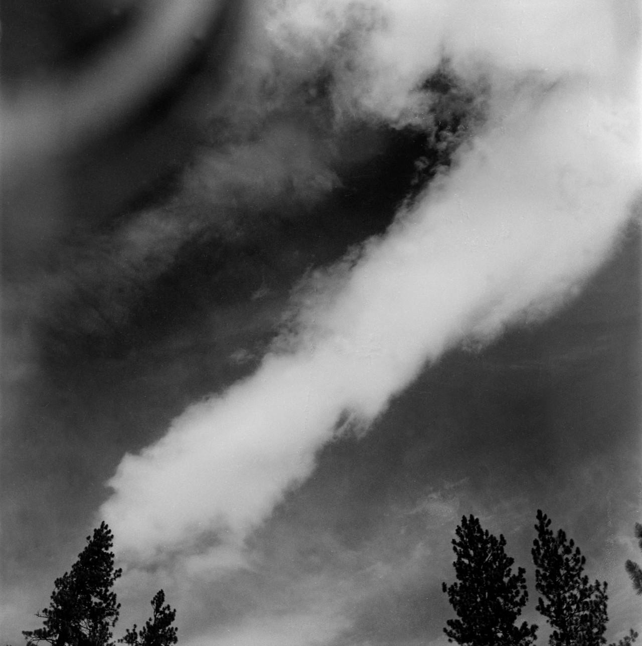 Абстракции облаков. Фотограф Имоджен Каннингем