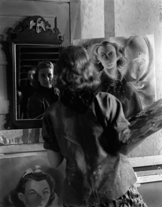 Джейн, Алиса и Имоджен, 1940. Фотограф Имоджен Каннингем