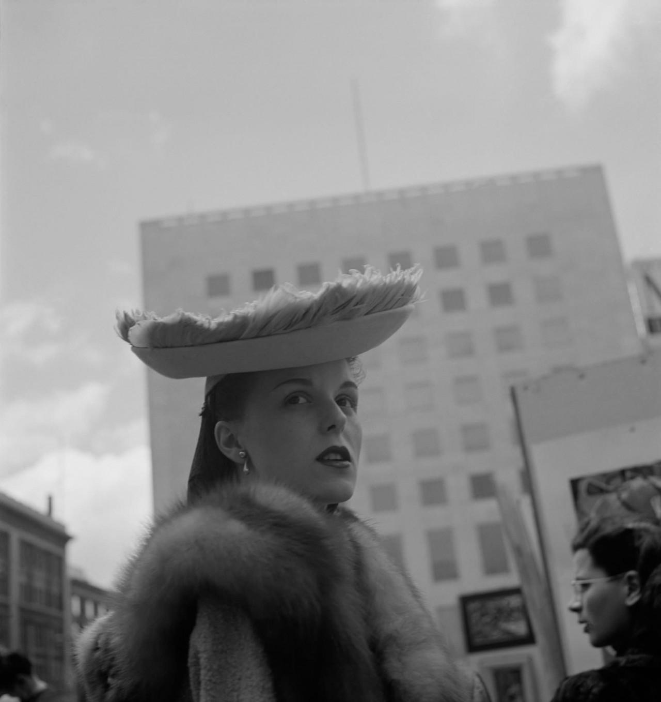 Мех и перья, 1948. Фотограф Имоджен Каннингем