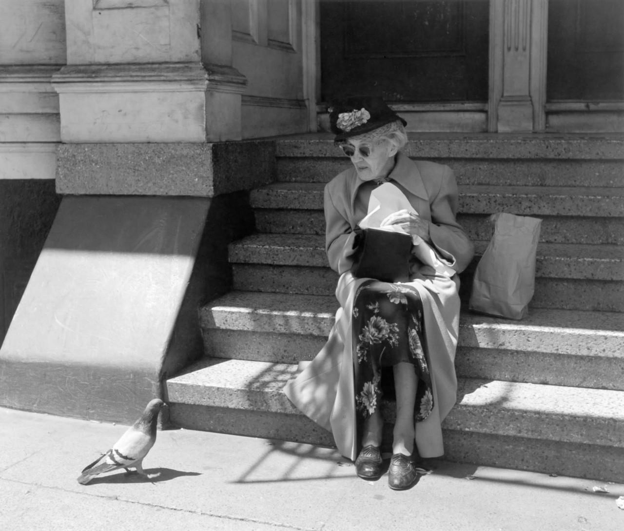 Одиночка, около 1950. Фотограф Имоджен Каннингем
