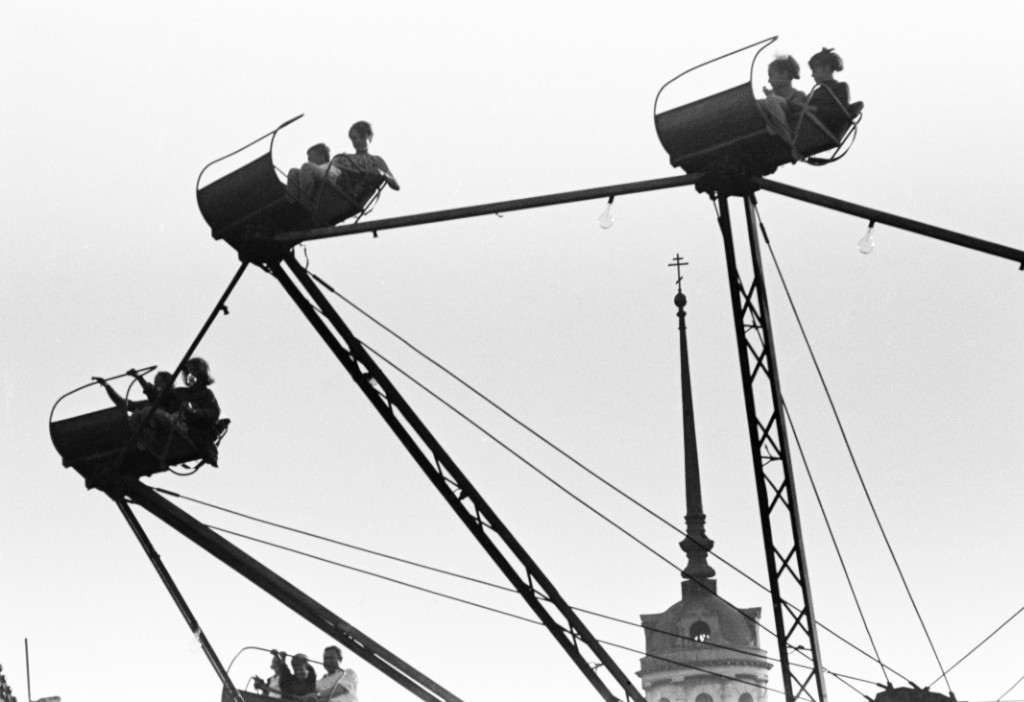 «Чертово колесо», Шуя, 1969