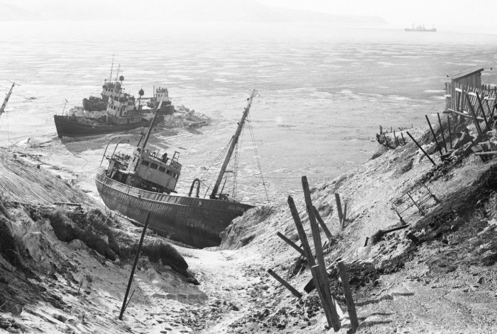 Магадан, бухта Нагаево, 1971