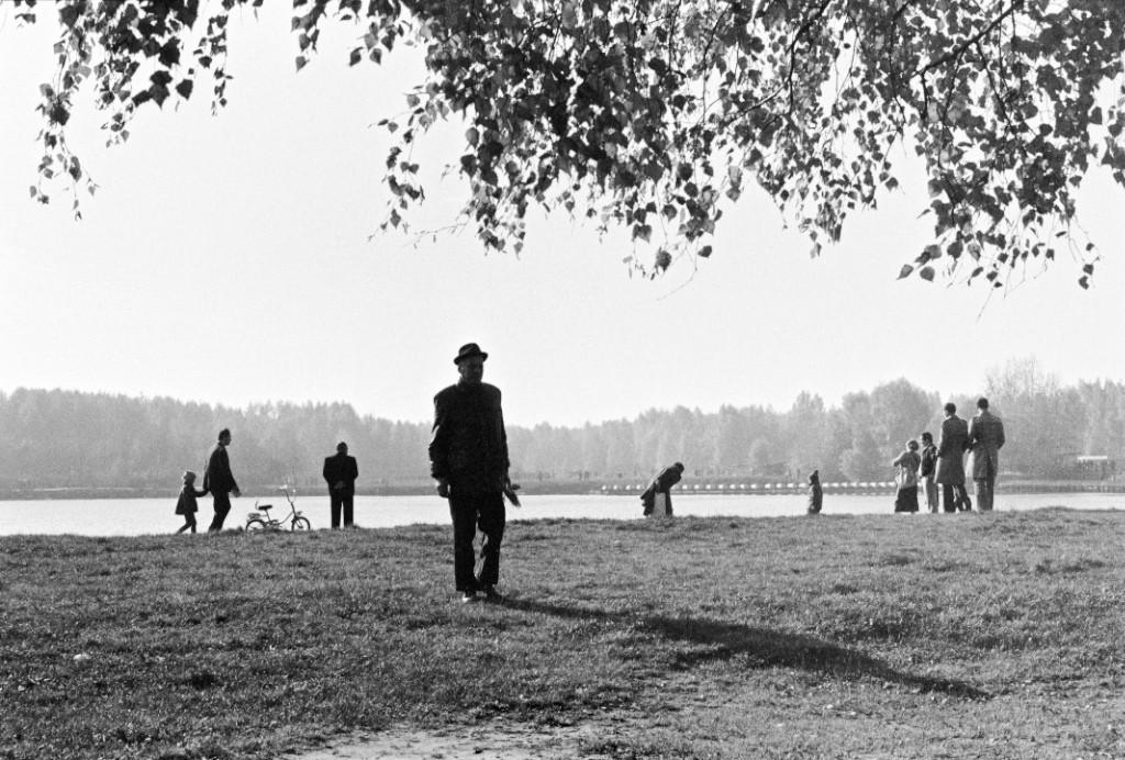 Москва, Кусково, конец сезона, 1977