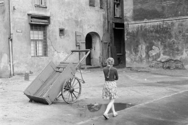 Рига, район улицы Трокшню, 1961. Фотограф Игорь Пальмин