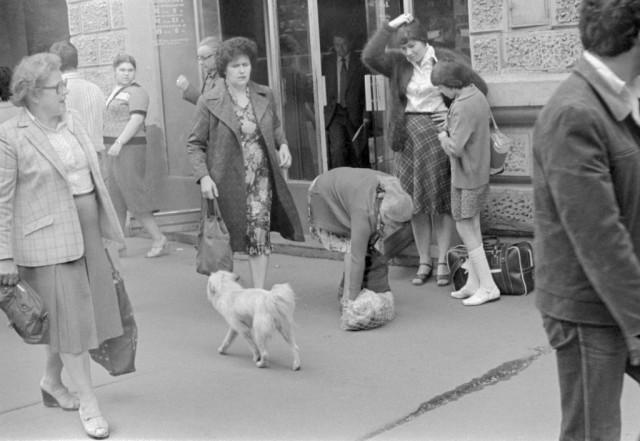 Улица Горького, Москва, 1981. Фотограф Игорь Пальмин