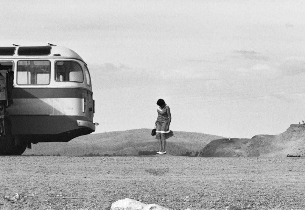 «Вуаяж». Остановка у реки Селенги, Бурятия, 1980