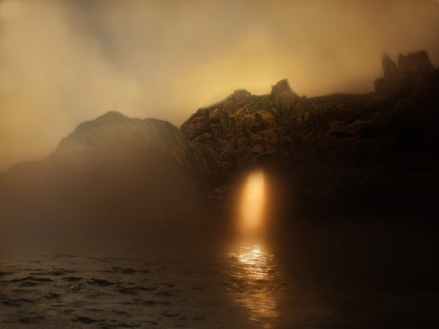 Solar gates. Photographer Sergey Kolyaskin