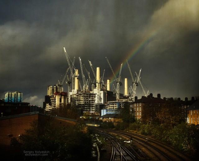 The castle of the industrial world. Photographer Sergey Kolyaskin