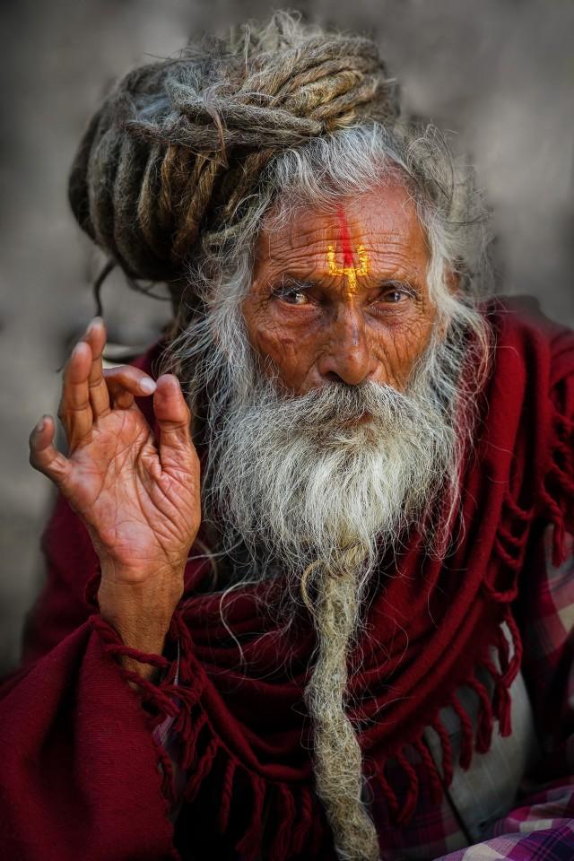 Sadhu, India. Photographer Sergey Kolyaskin