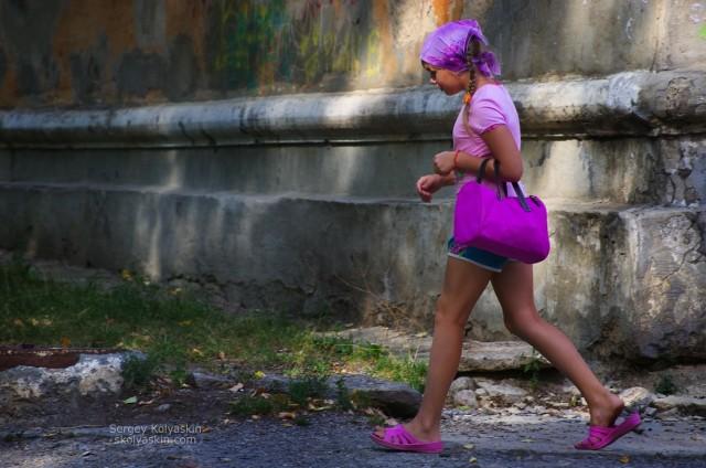 Summer in the city of N, Chrysostom. Photographer Sergey Kolyaskin