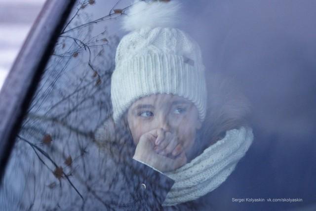 Casual portrait. Photographer Sergey Kolyaskin