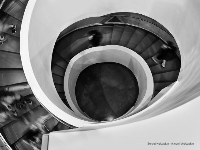 Perpetual motion. Photographer Sergey Kolyaskin