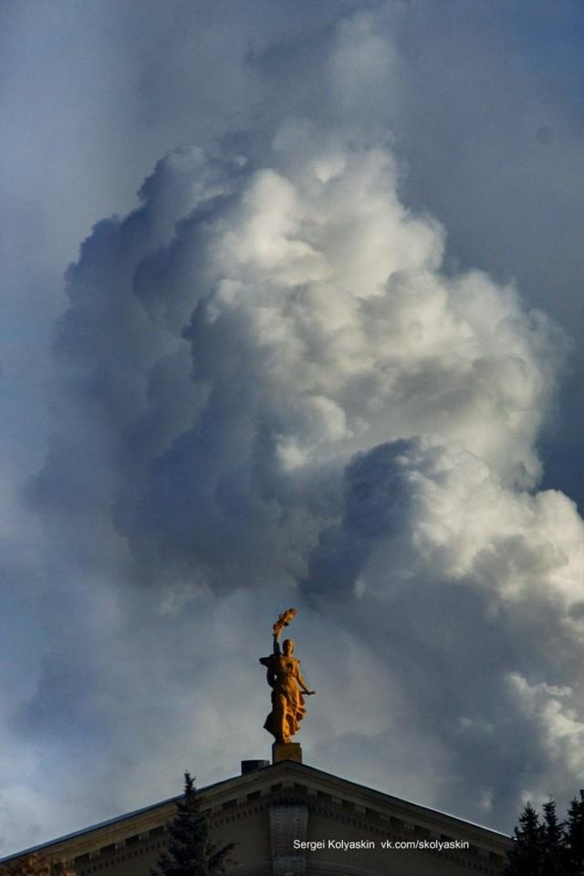 Smoke of the Fatherland. Photographer Sergey Kolyaskin