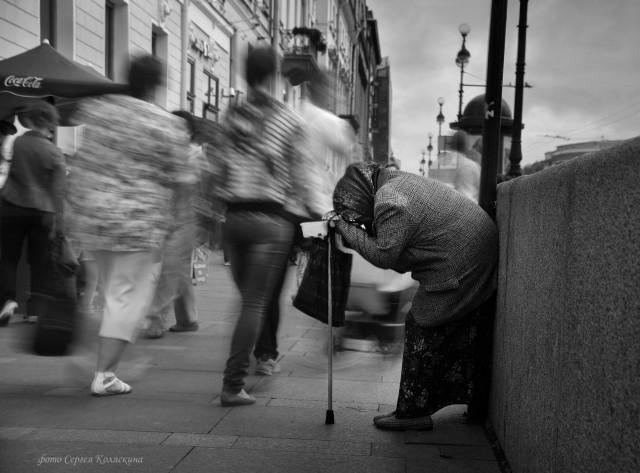 Small Life of a Big City, St. Petersburg. Photographer Sergey Kolyaskin