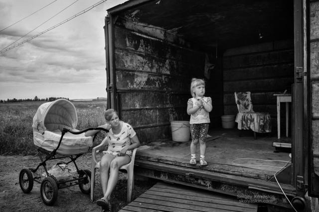 Rabocheostrovsk. From the series Forgotten villages. Photographer Sergey Kolyaskin
