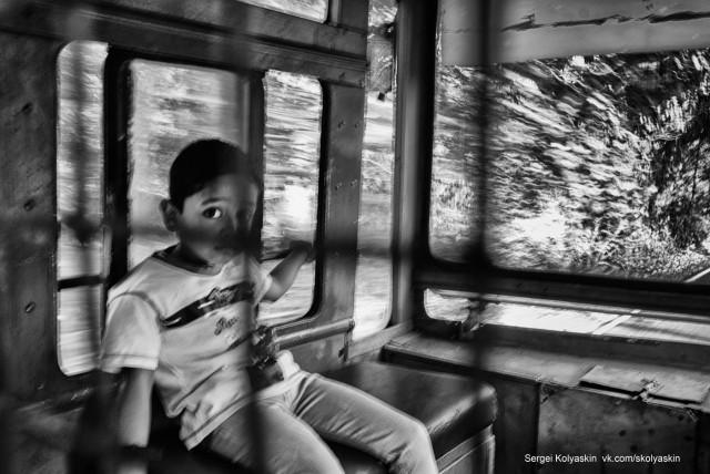 The way home, India. Photographer Sergey Kolyaskin