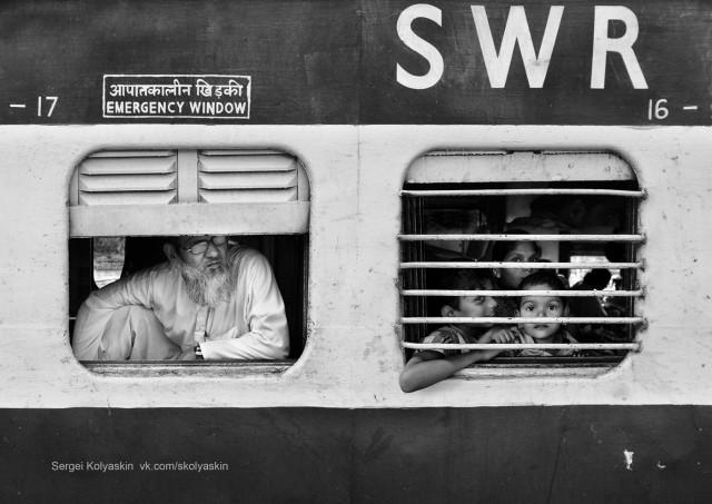 Indian wagon. Photographer Sergey Kolyaskin