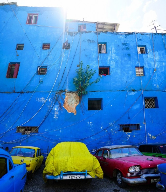 Picturesque corner, Cuba. Photographer Sergey Kolyaskin