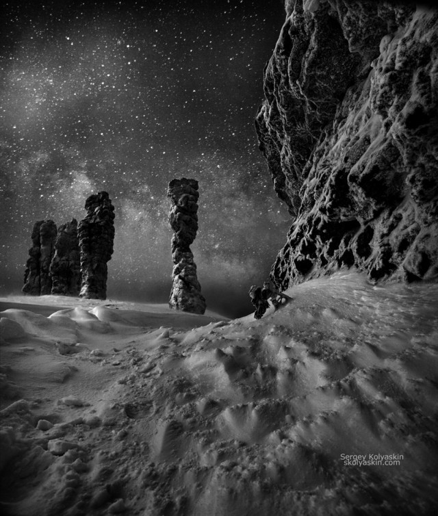 Manpupuner plateau. Photographer Sergey Kolyaskin
