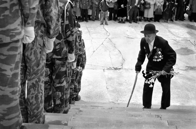 The last Hero. Photographer Sergey Kolyaskin