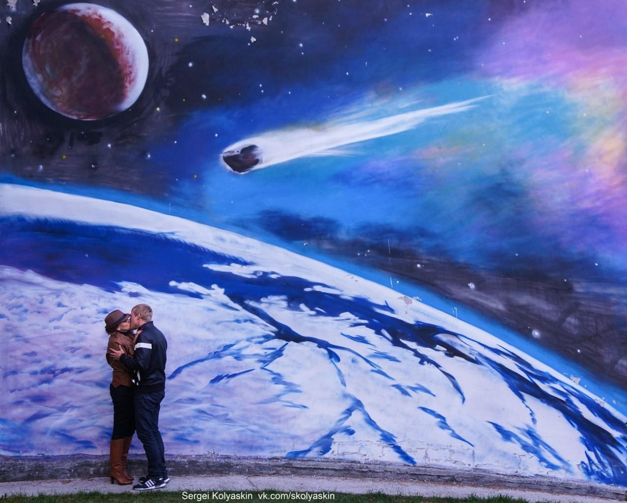Любовь под звездами. Фотограф Сергей Коляскин