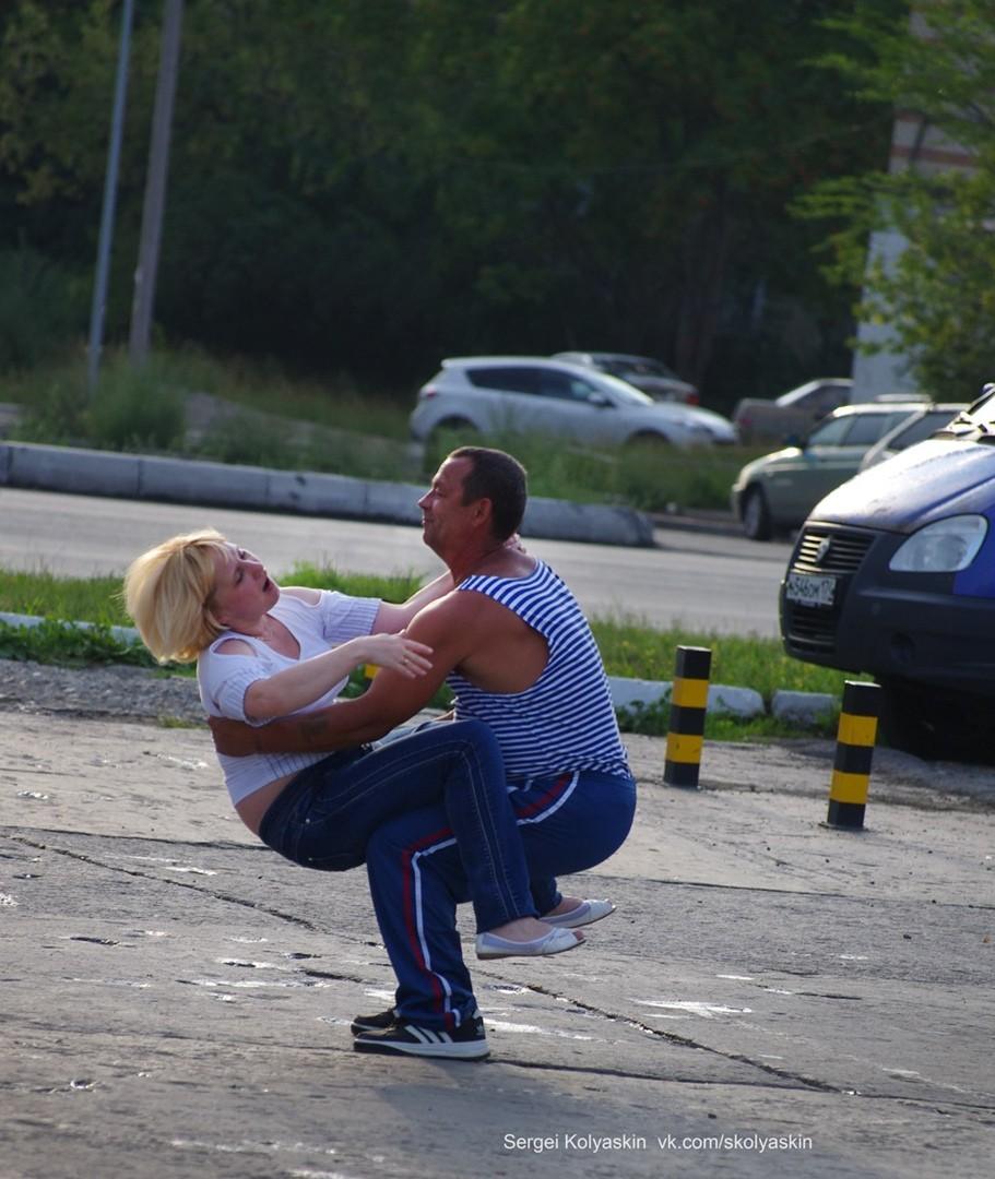 Танцы на улицах Че. Фотограф Сергей Коляскин