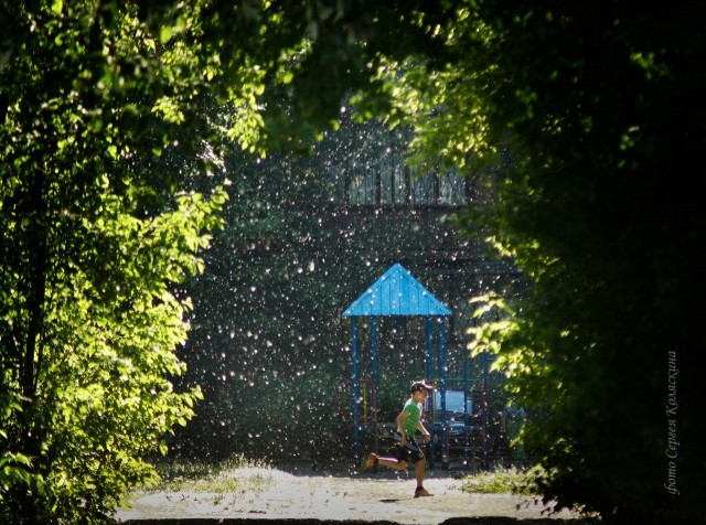 Зима в июле. Фотограф Сергей Коляскин