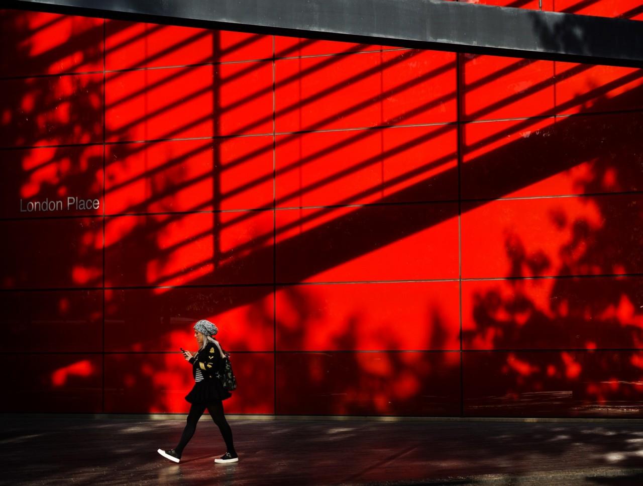 Красный город, Лондон. Фотограф Сергей Коляскин