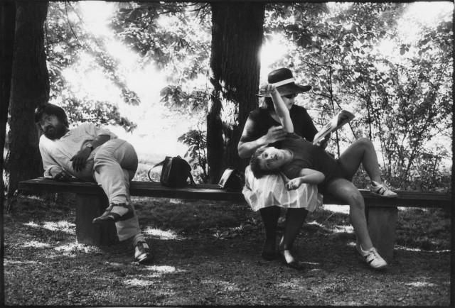 Из серии «Жизнь вместе», 1974–1984. Фотограф Уте Малер