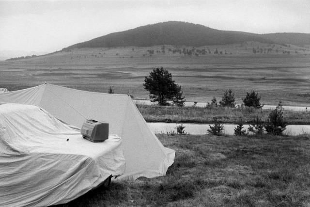 Палатка. Фотограф Уте Малер