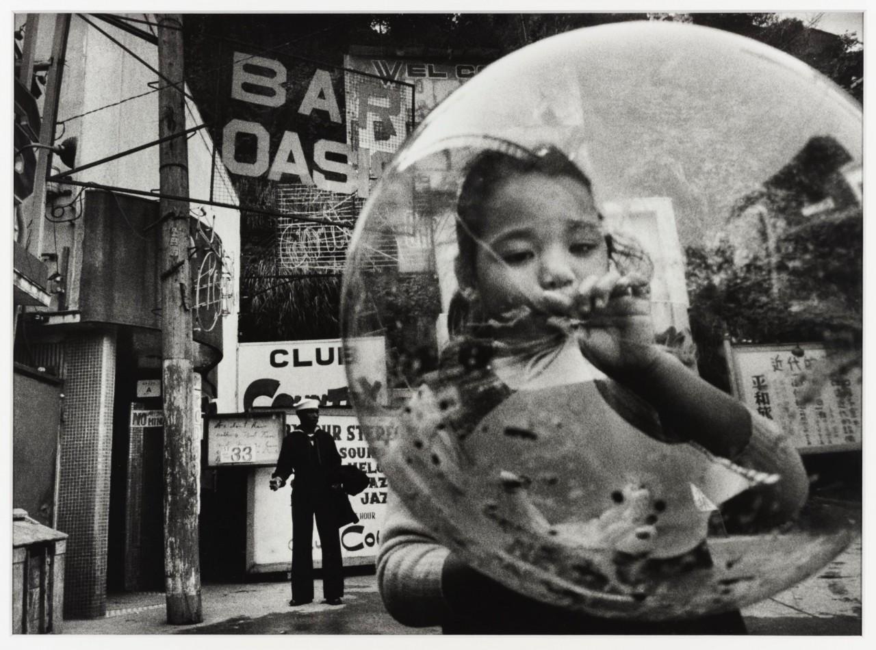 Йокосука, Канагава, 1959. Фотограф Сёмэй Томацу