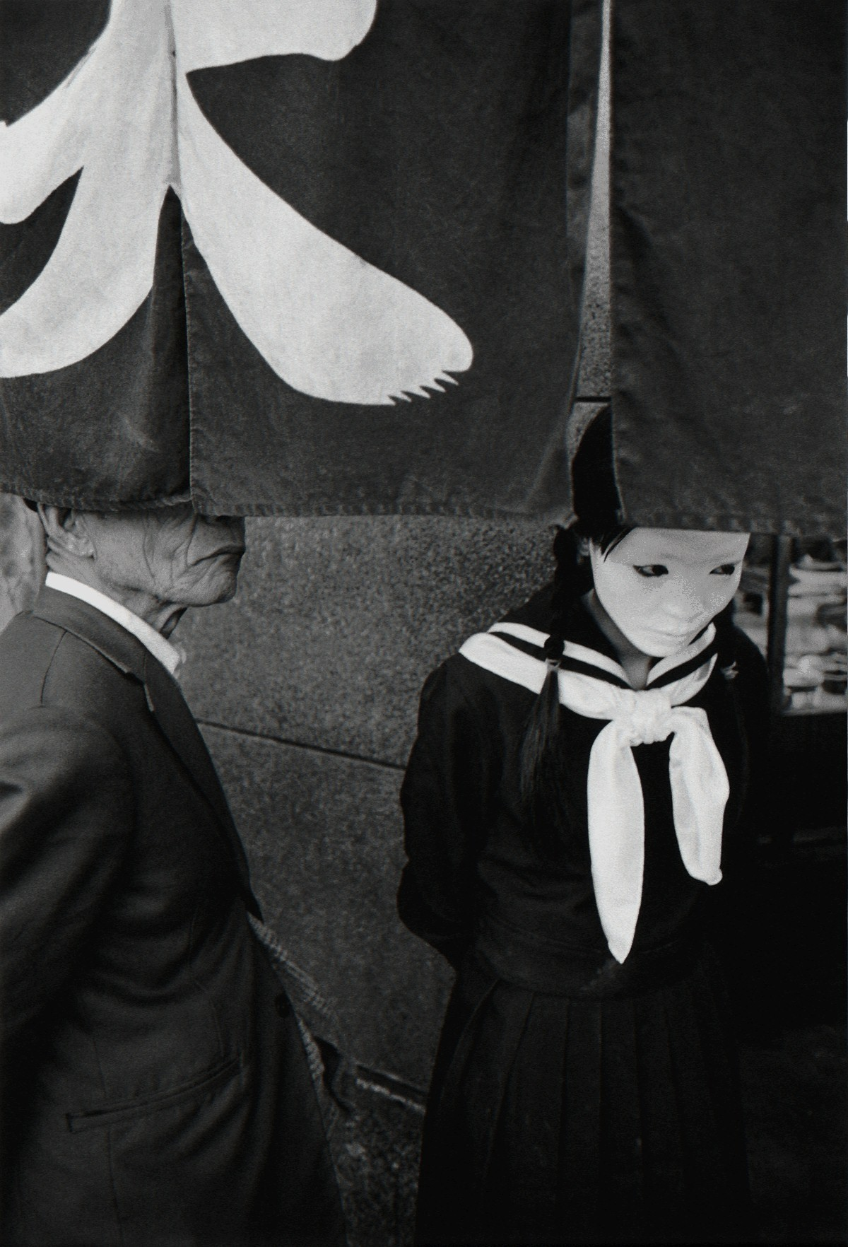 Очевидное отсутствие, Актриса Митико Такахаши, Токио, 1971. Фотограф Сёмэй Томацу