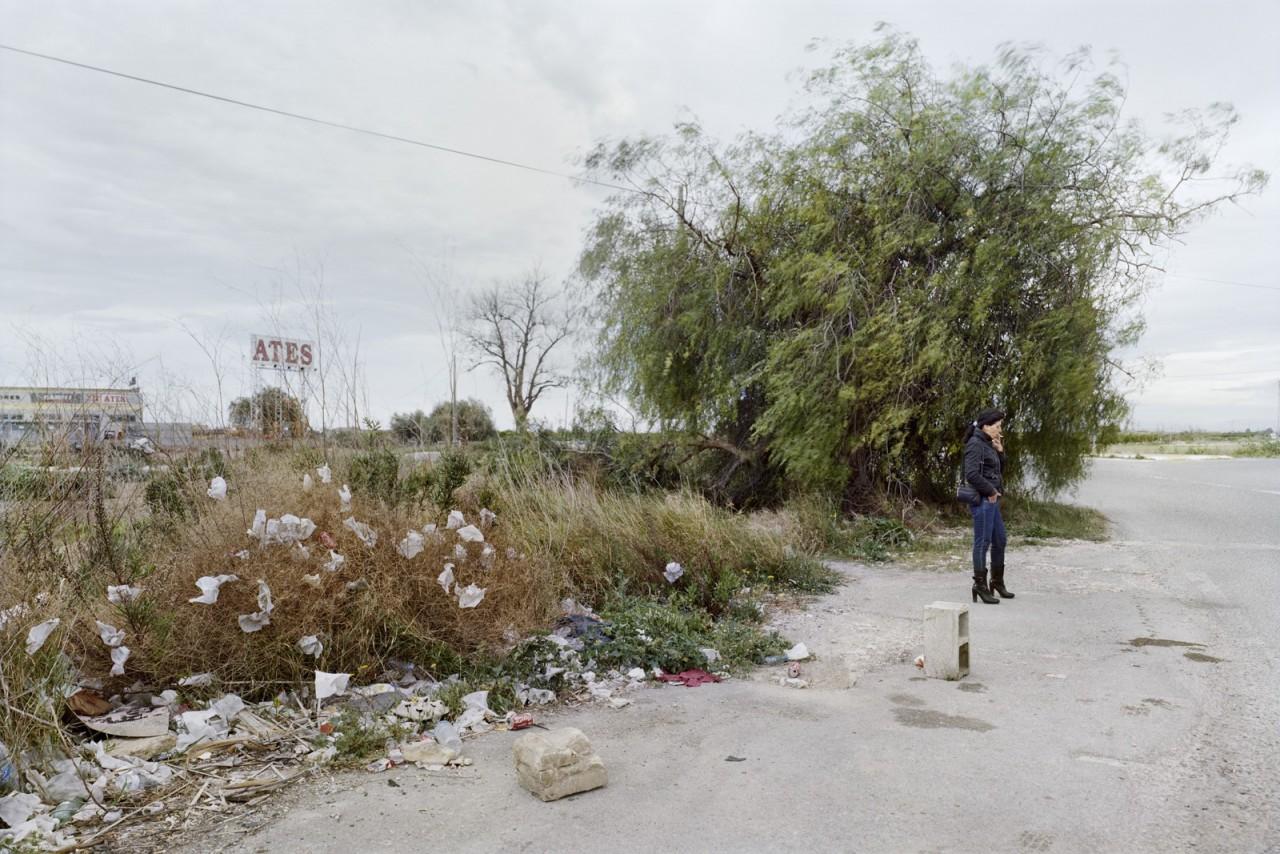 Провинция Валенсия, Трасса CV-5010. Фотопроект «Игра в ожидание». Фотограф Чема Сальванс